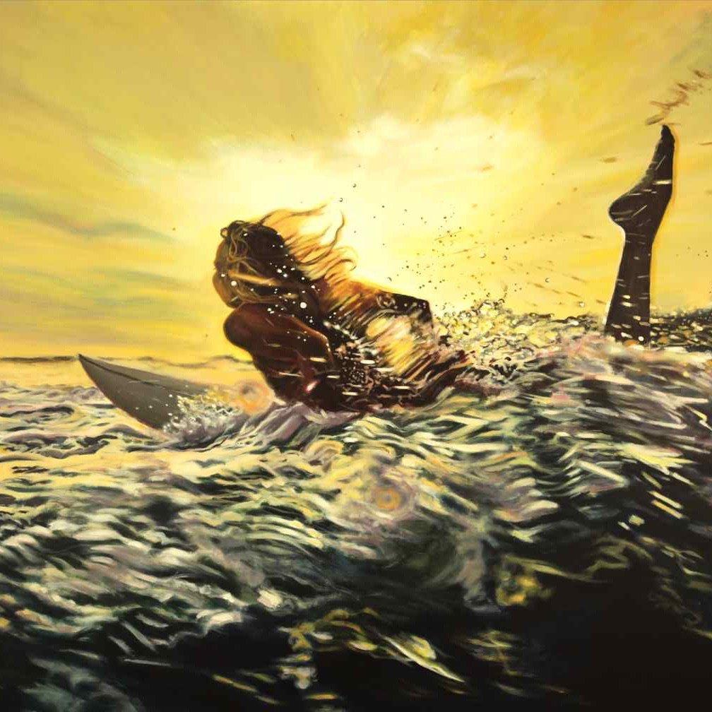 gonesurfing-antoinerenault-art-frenchartist-saatchiart