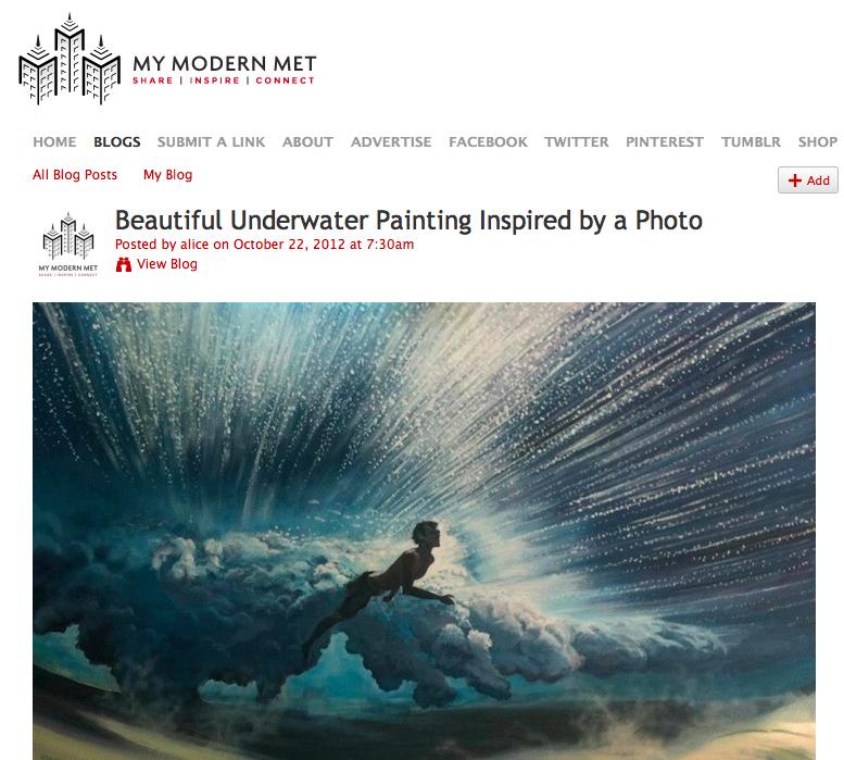 "My Modern Metropolis on Antoine Renault's and Mark Tipple ""Underwater project"""