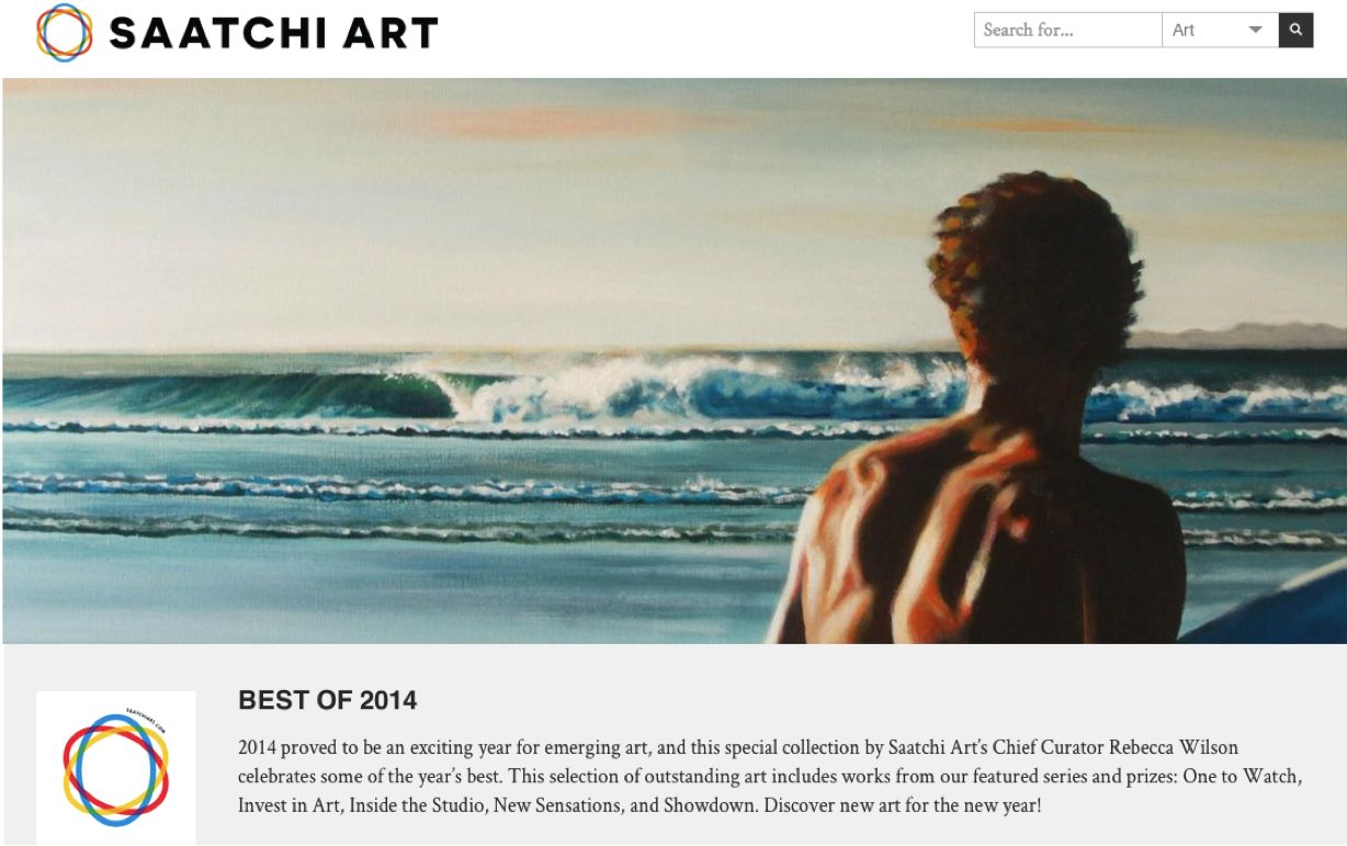 Antoine Renault in Saatchi's Best-of-2014