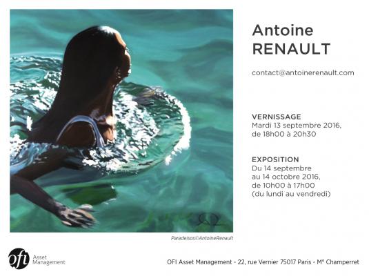 Antoine Renault exposition Paris